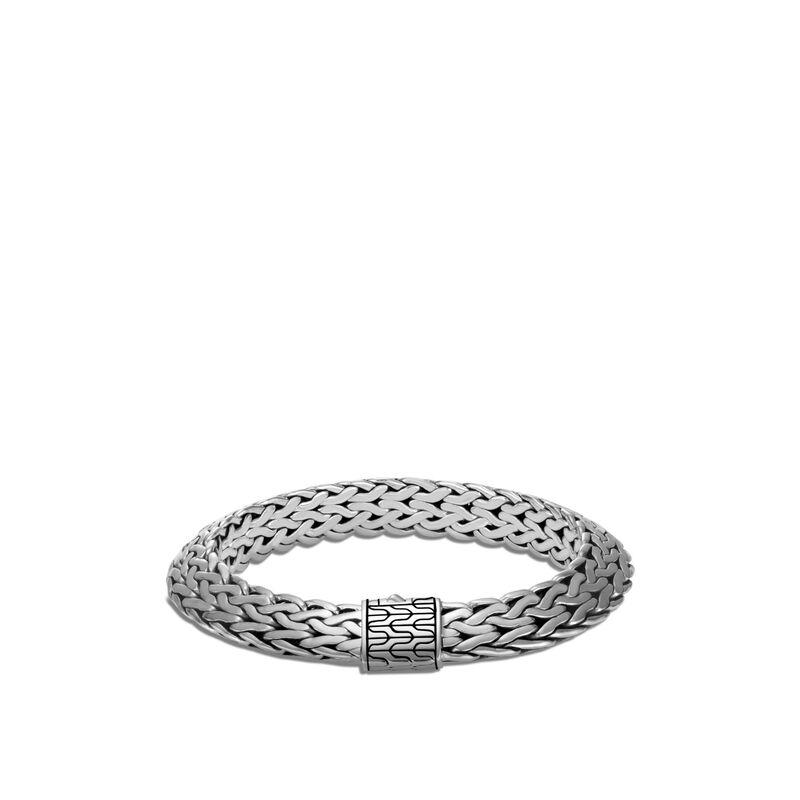 Tiga Classic Chain 11MM Bracelet in Silver, , large
