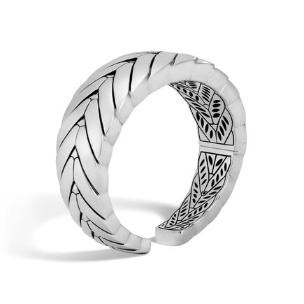 Modern Chain 20.5MM Kick Cuff in Silver