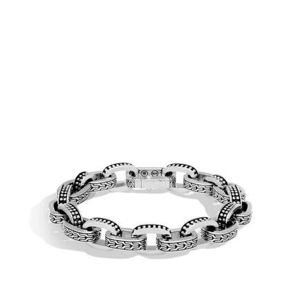 Chain Jawan 11MM Link Bracelet in Silver