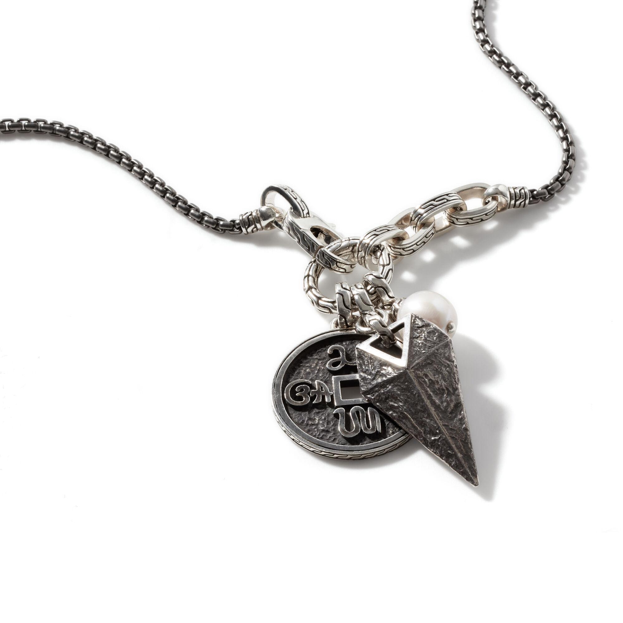 Tiga Amulet Keyring Necklace, , large