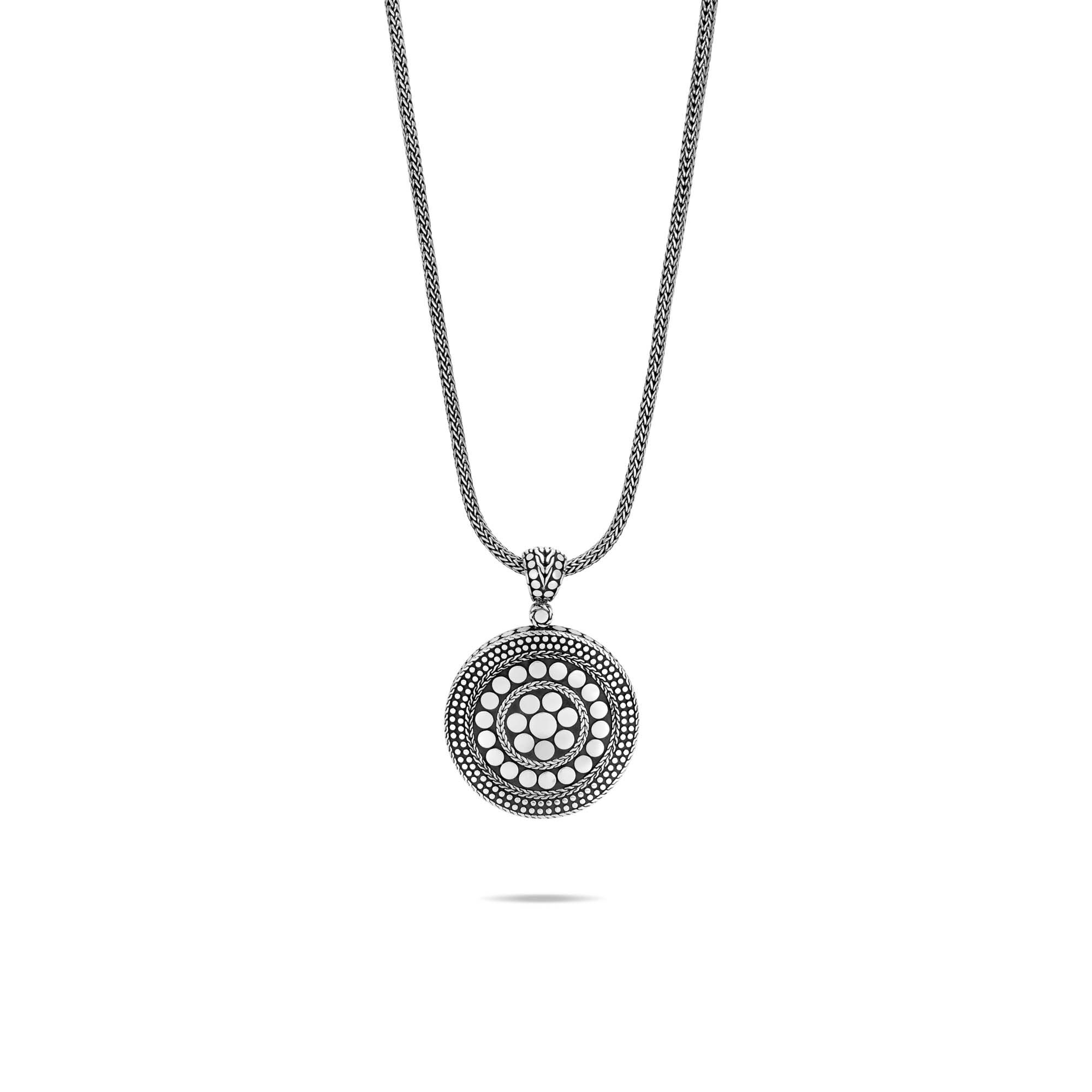 Dot Pendant in Silver, , large
