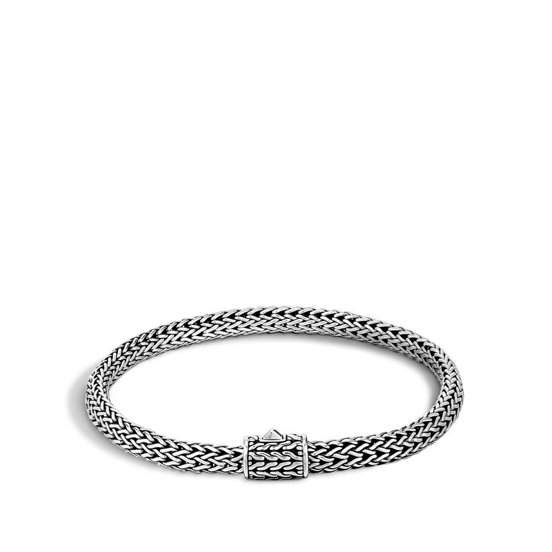 Classic Chain 5MM Bracelet in Silver, , large