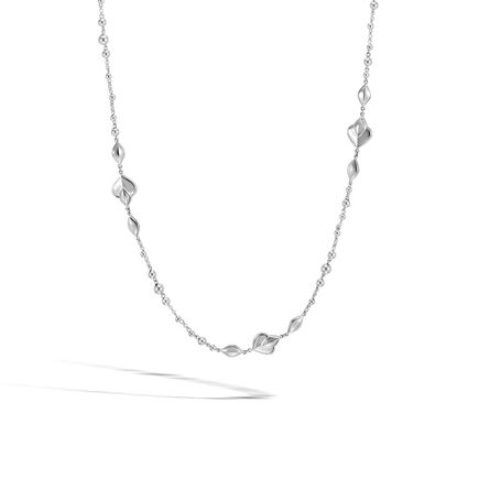 Legends Naga Station Necklace in Silver