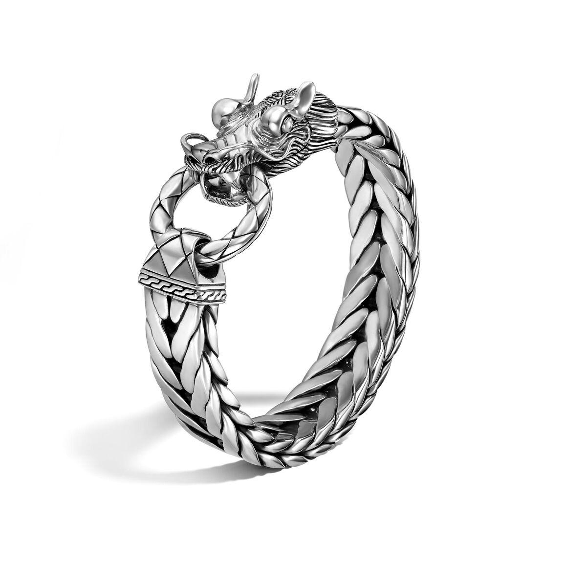 Legends Naga 15MM Station Bracelet in Silver