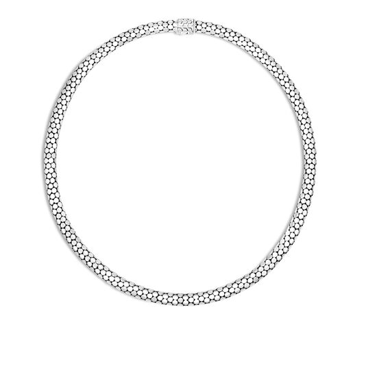 Dot 6.5MM Necklace in Silver, , large