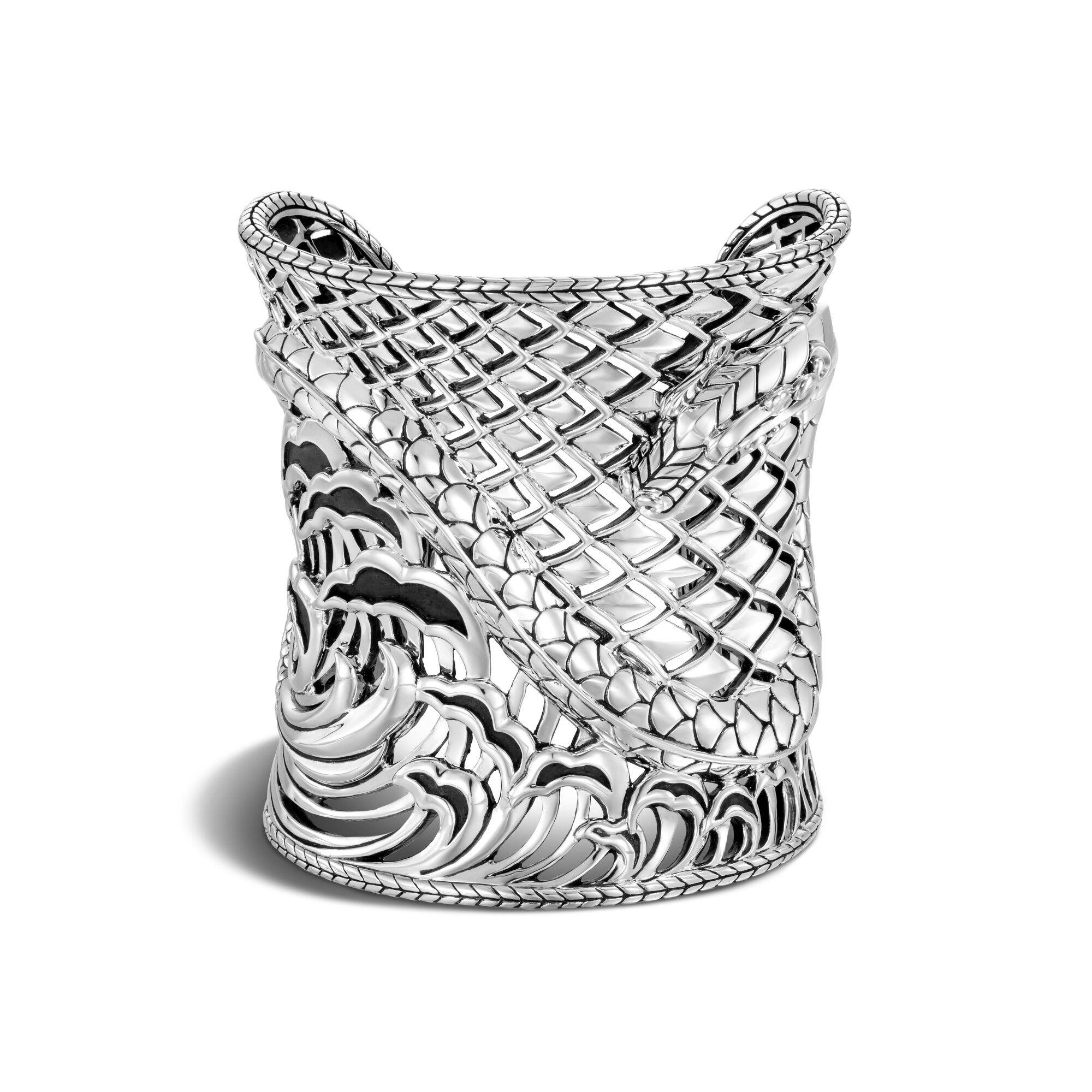Legends Naga Cuff in Silver, , large