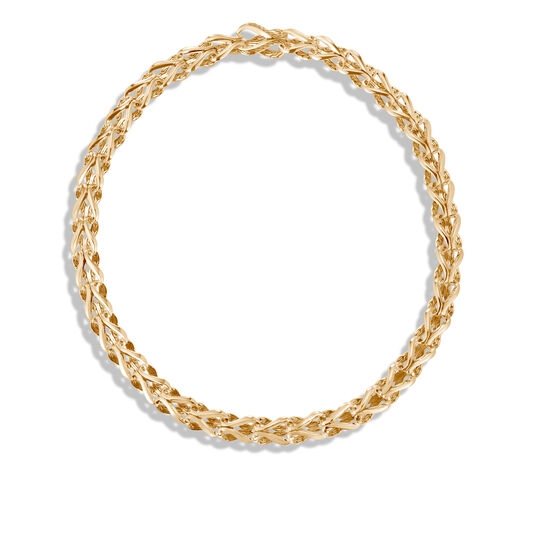 Asli Classic Chain Link 10MM Necklace in 18K Gold, , large