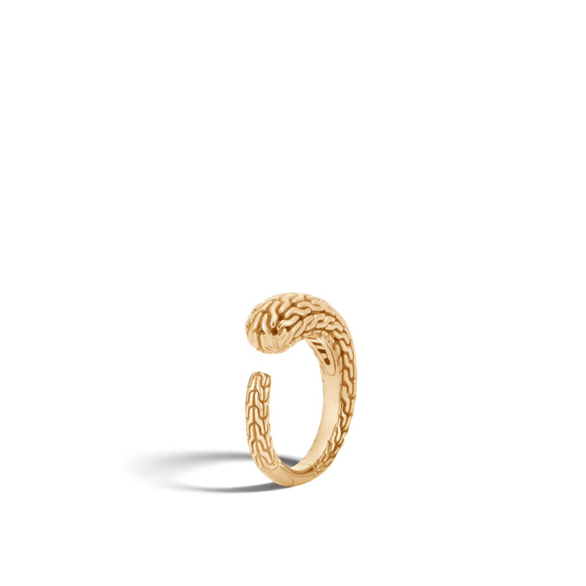 Classic Chain Ring in18K Gold