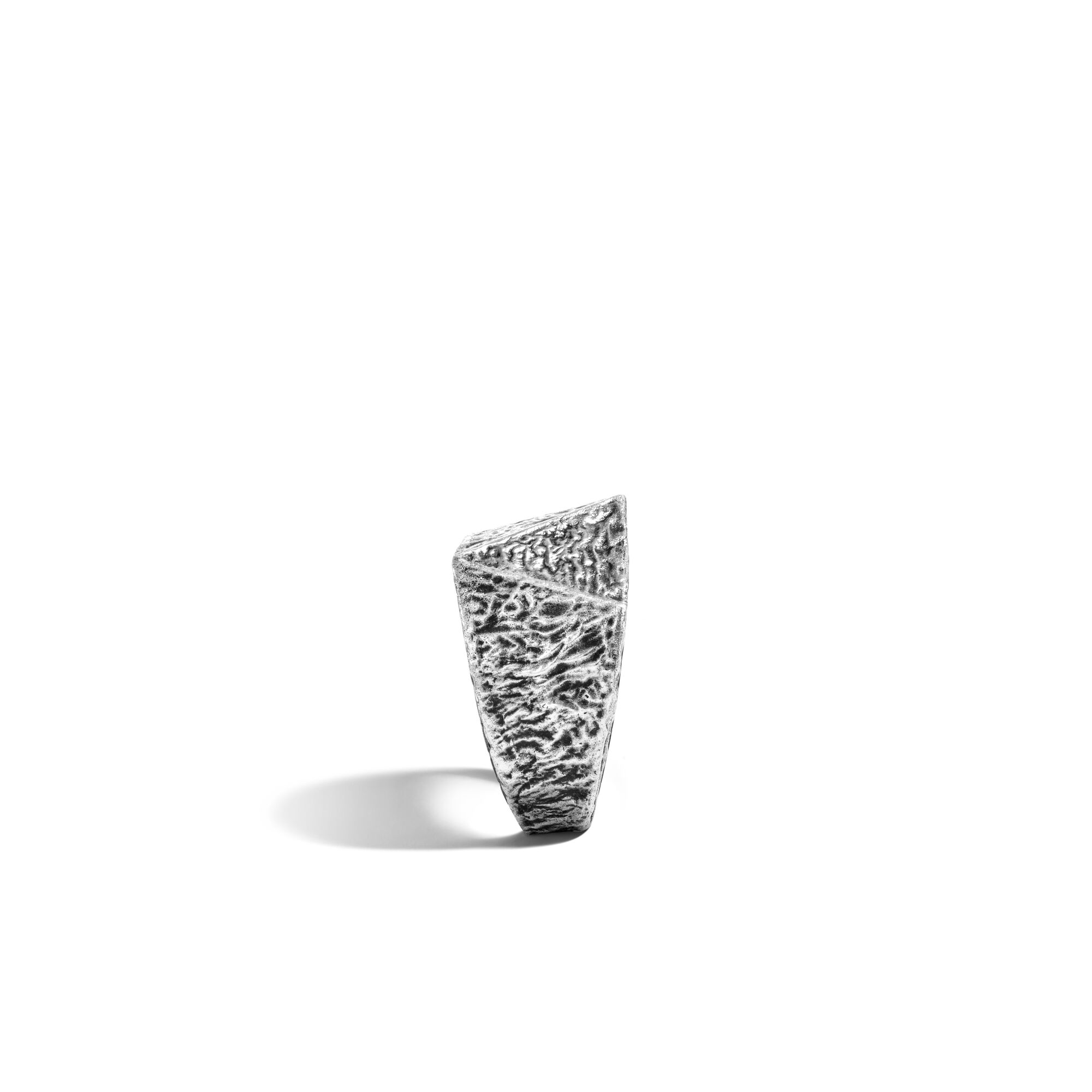 Tiga Reticulated Signet Ring, , large