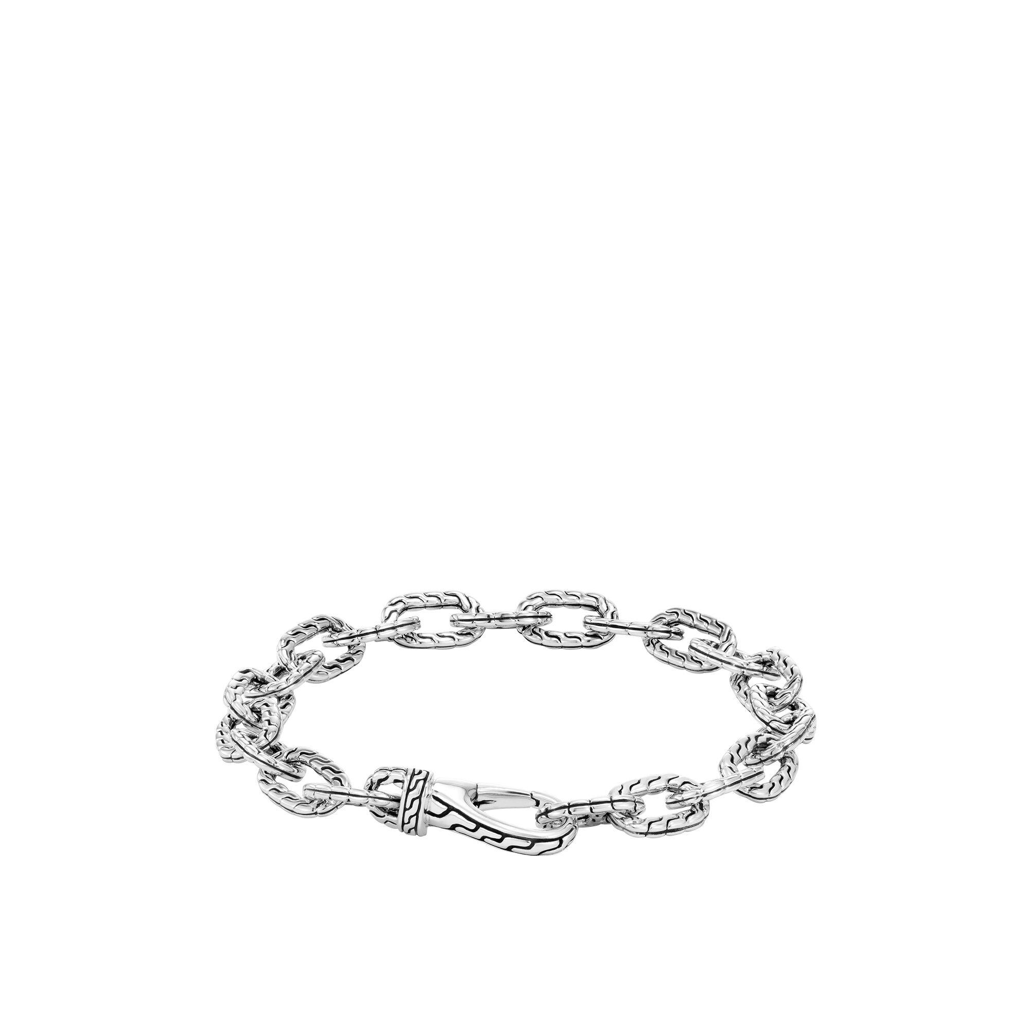Classic Chain Silver Link Bracelet, , large
