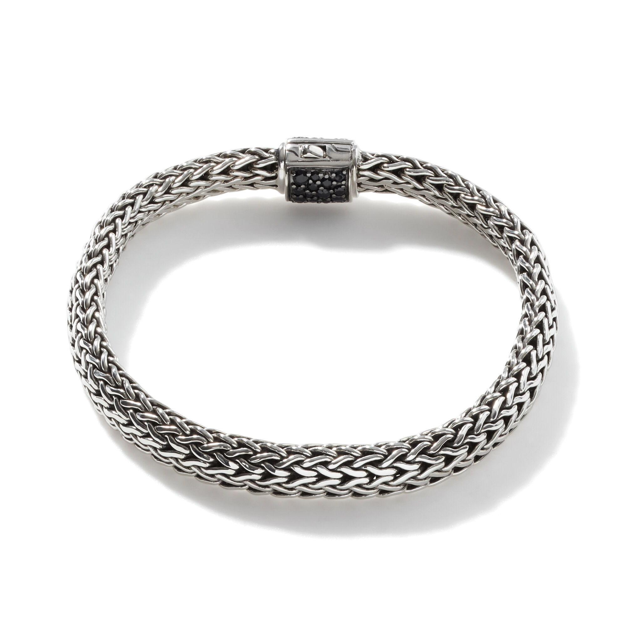 Classic Chain Reversible Icon Bracelet, Blue Sapphire, large