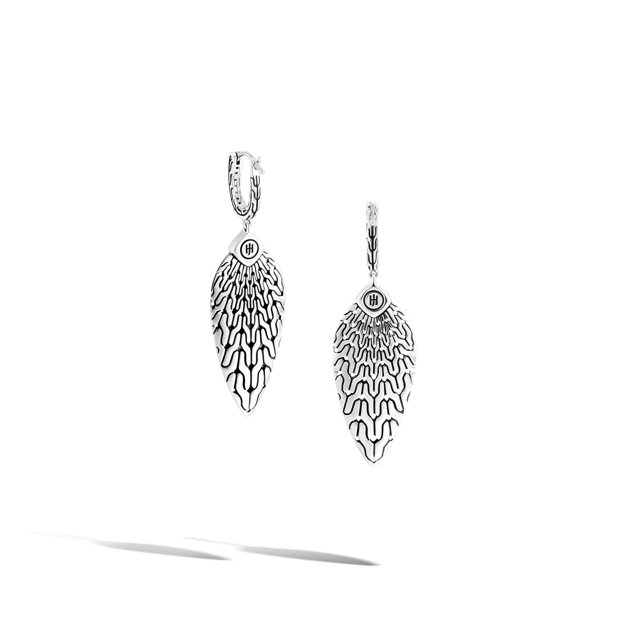 Radial Pavé Drop Earring , , large
