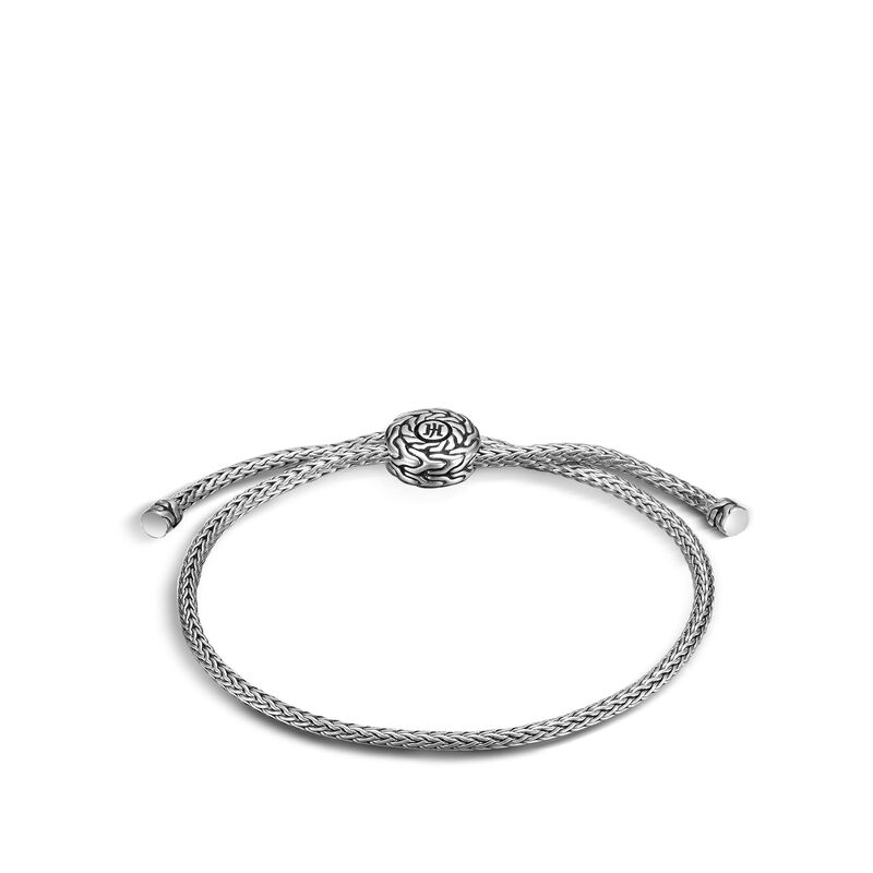 Classic Chain Pull Through Bracelet in Silver , , large