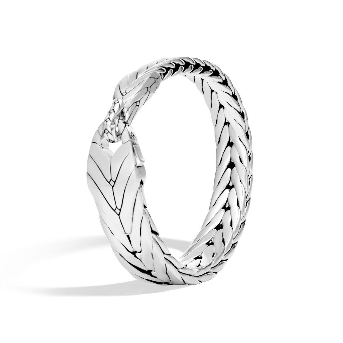 Modern Chain Bracelet in Silver