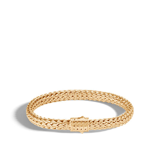 Classic Chain 7.5MM  Bracelet in 18K Gold, , large