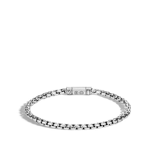 Classic Chain 4MM Box Chain Bracelet in Silver, , large