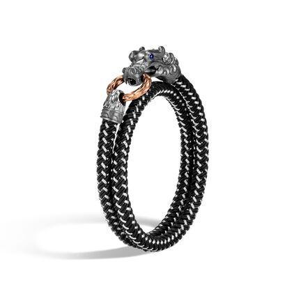 Legends Naga Wrap Bracelet In Blackened Silver and Bronze