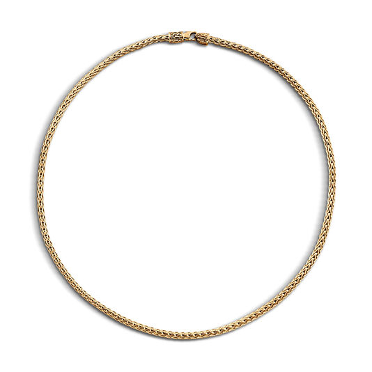 Classic Chain 3.5MM Necklace in 18K Gold, , large