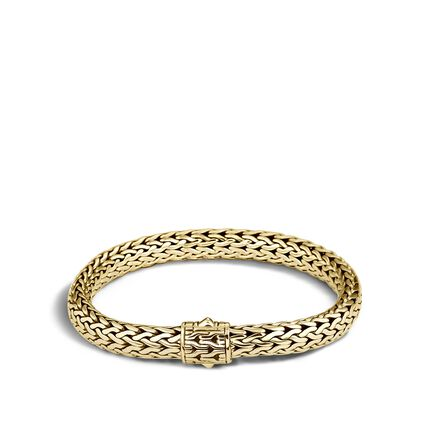 Classic Chain 7.5MM Bracelet in 18K Gold