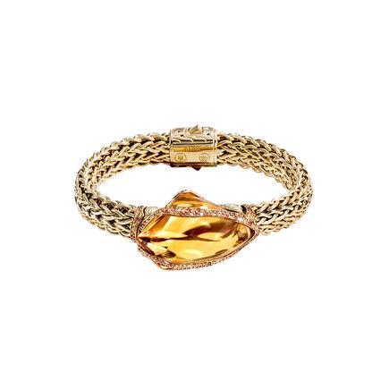 Cinta Classic Chain Power Rock Bracelet in 18K Gold