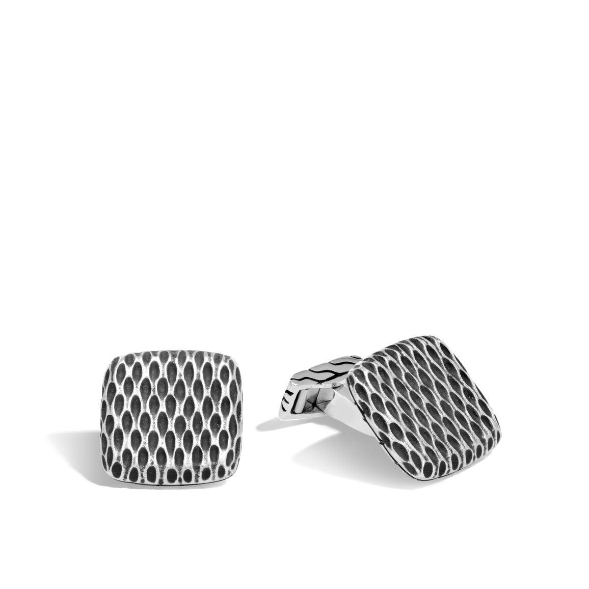 Legends Naga Cufflinks in Silver