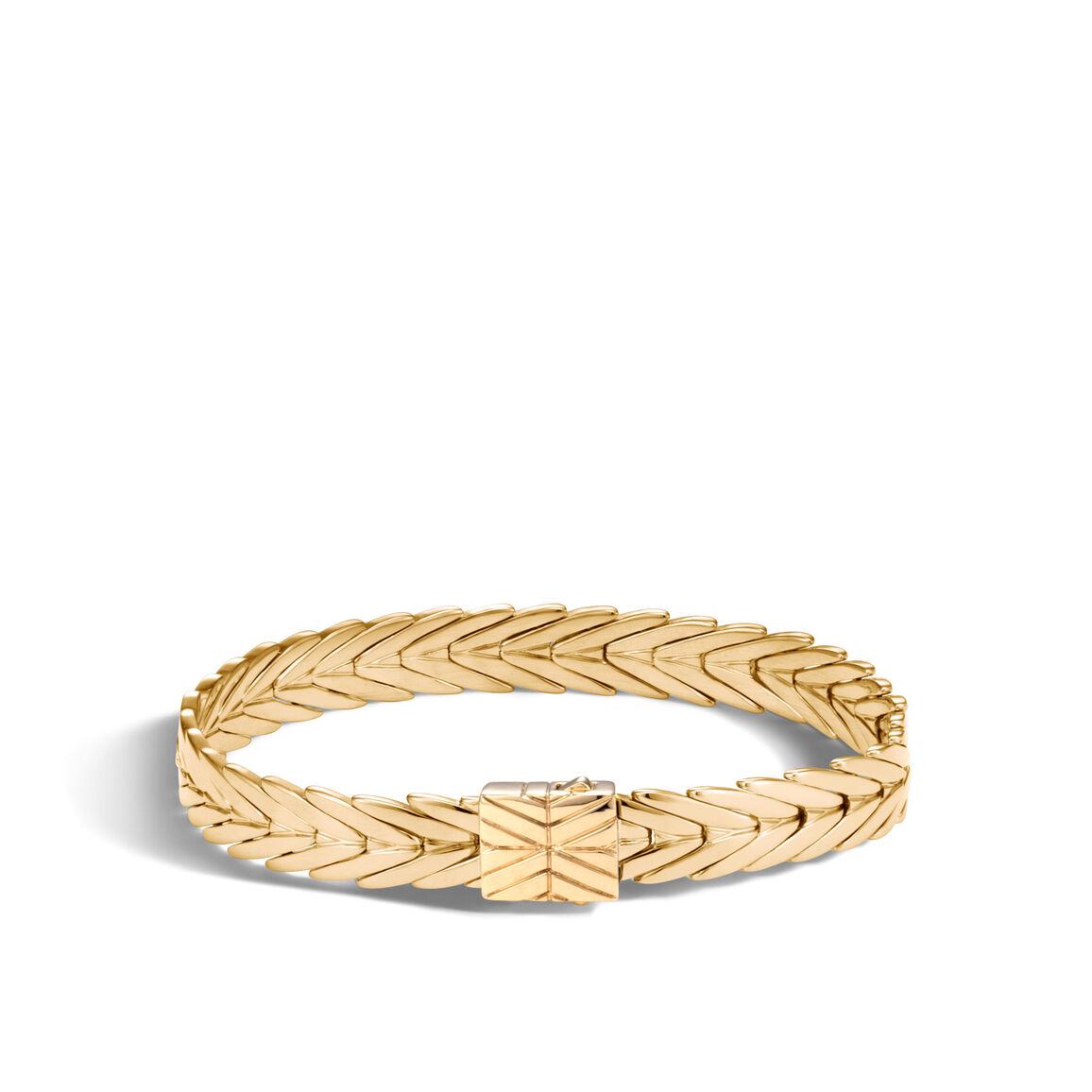 Modern Chain 8MM Bracelet in 18K Gold