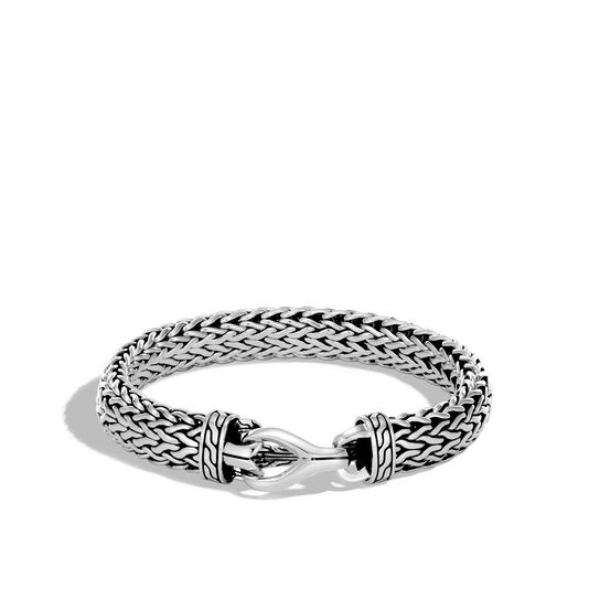 Asli Classic Chain Link 11MM Bracelet in Silver, , large