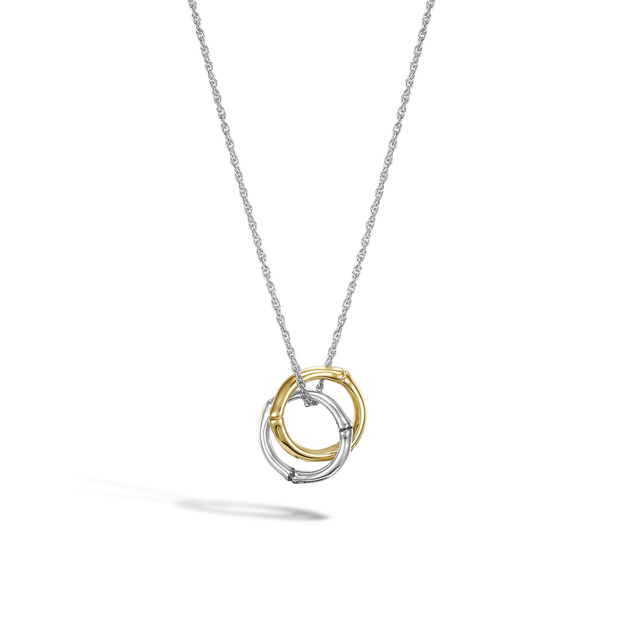 John Hardy Interlinking Pendant Necklace ciacY