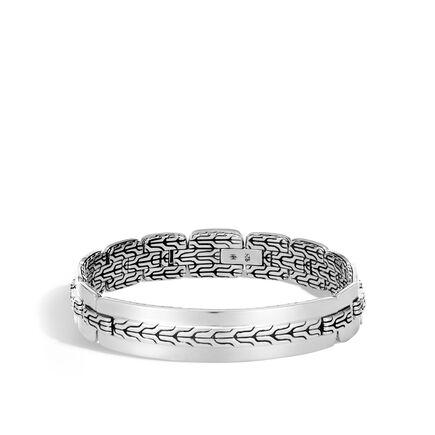 Classic Chain 12.5MM Bracelet in Silver