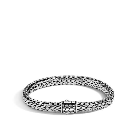Classic Chain 6.5MM Bracelet in Silver, , large