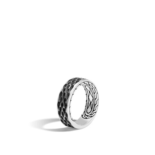 Legends Naga 7.5MM Band Ring in Silver, , large