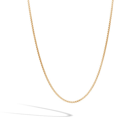 Classic Chain 1.9MM Box Chain Necklace in 18K Gold, , large