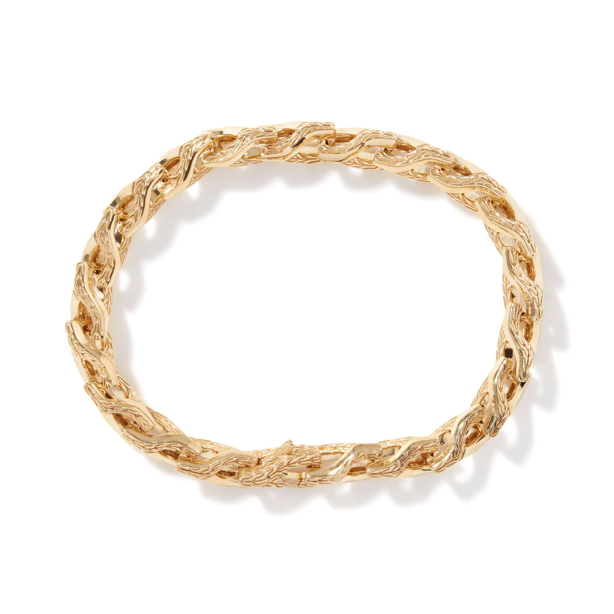 Asli Classic Chain Link Bracelet in 18K Gold, , large