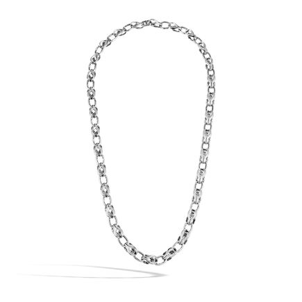 Asli Classic Chain Link 9MM Necklace in Silver