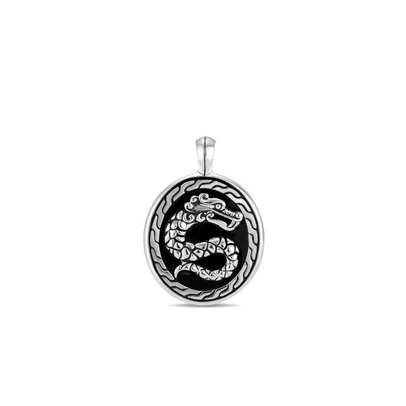 Legends Naga Pendant in Silver, , large