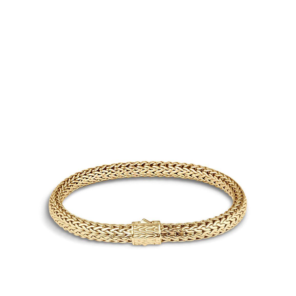 Classic Chain 6.5MM Bracelet in 18K Gold