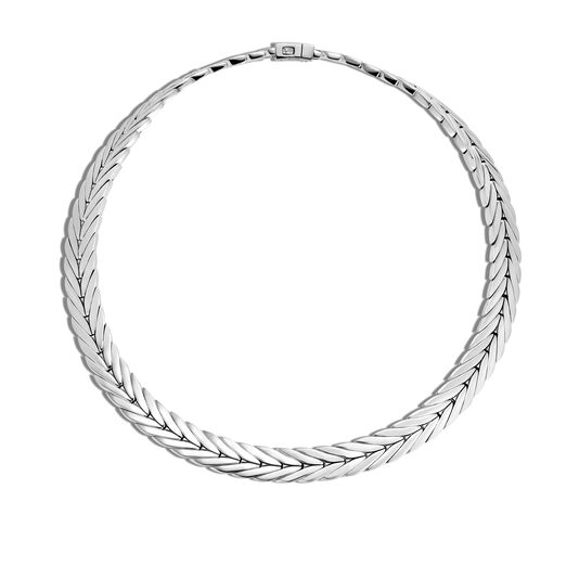 Modern Chain 11MM Necklace in Silver, , large