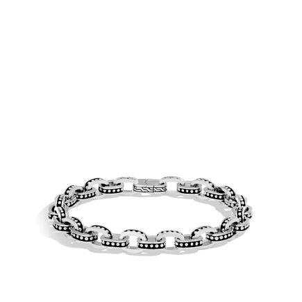 Chain Jawan 7.5MM Link Bracelet in Silver