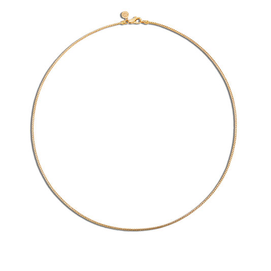 Classic Chain 1.7MM  Necklace in 18K Gold, , large