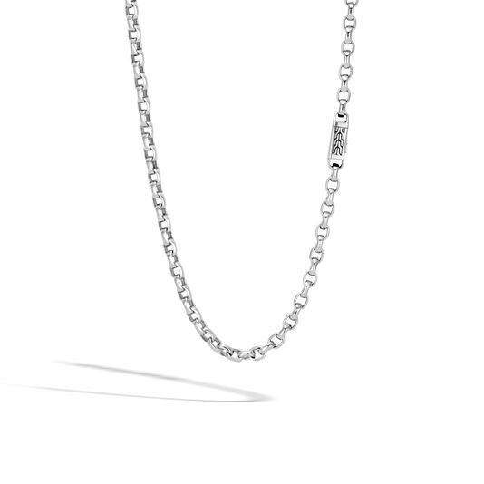 Classic Chain 5.6MM Box Chain Necklace in Silver, , large