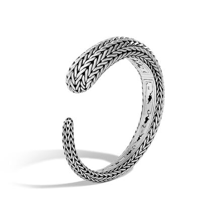 Classic Chain 13.5MM Kick Cuff in Silver