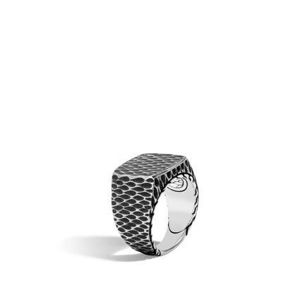Legends Naga Signet Ring in Silver