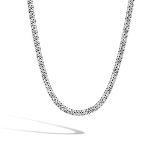 Classic Chain 6.5MM Necklace in Silver, , large