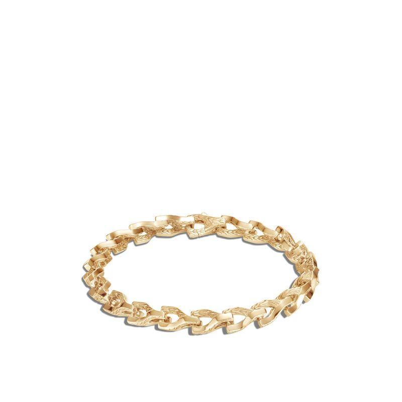 Asli Classic Chain 7MM Link Bracelet in 18K Gold, , large