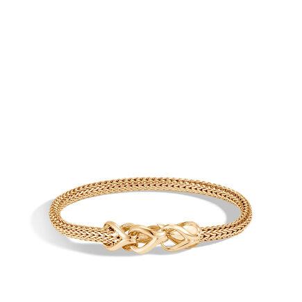 Asli Classic Chain Link 5MM Station Bracelet in 18K Gold