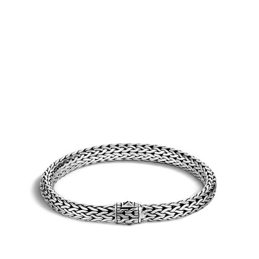 Classic Chain 7.5MM Bracelet in Silver , , large