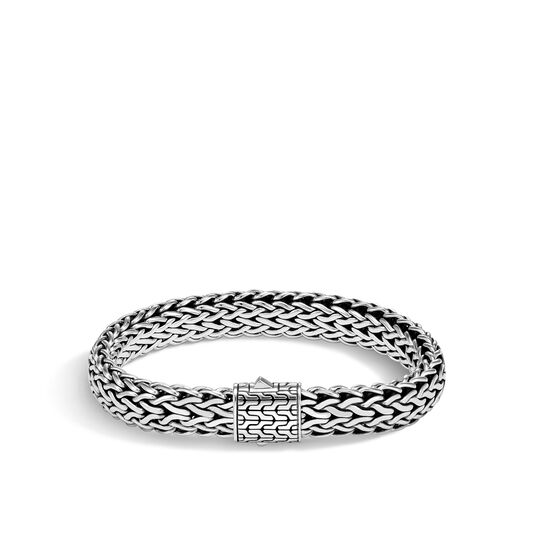 Classic Chain 11MM Bracelet in Silver, , large