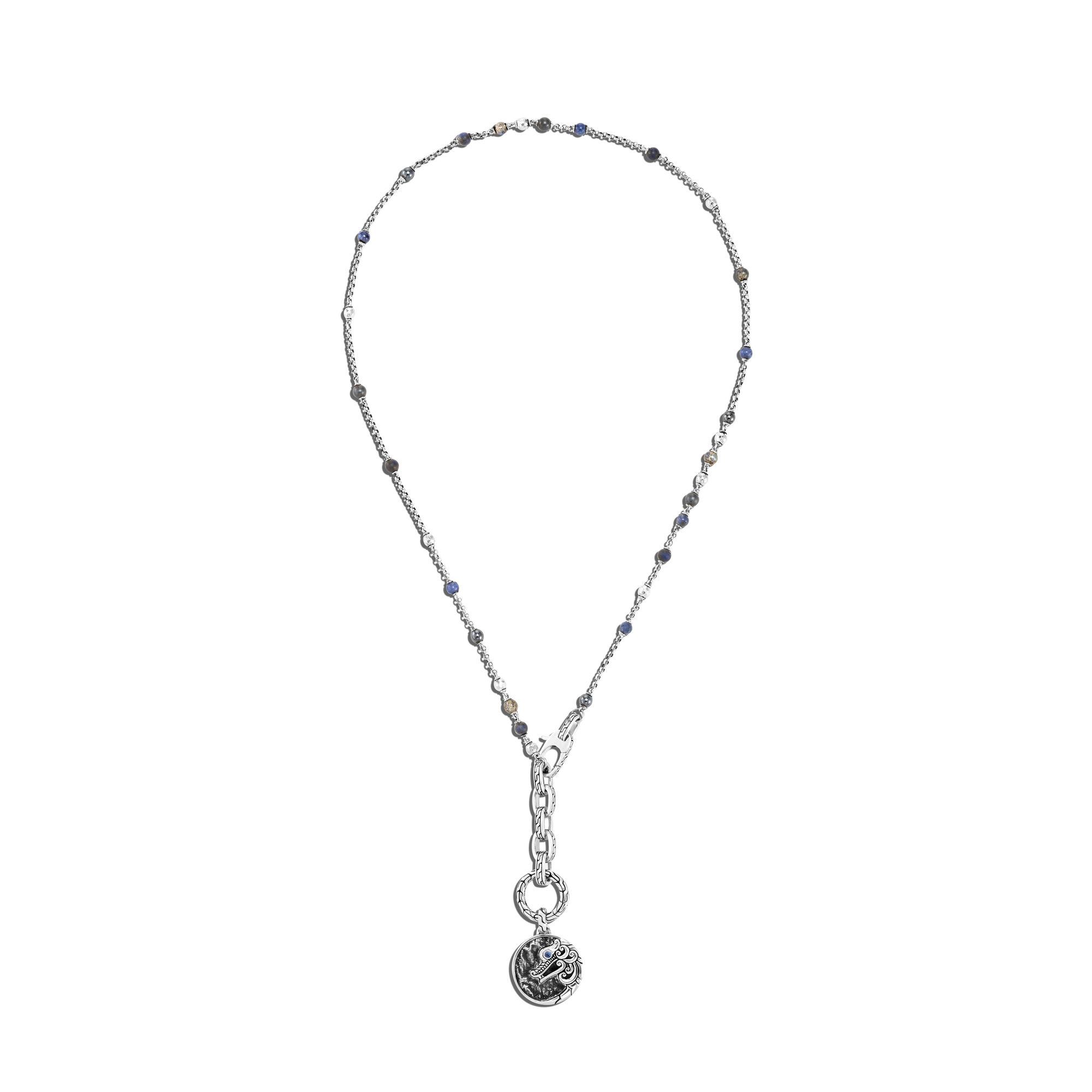 Naga Amulet Keyring Necklace, , large