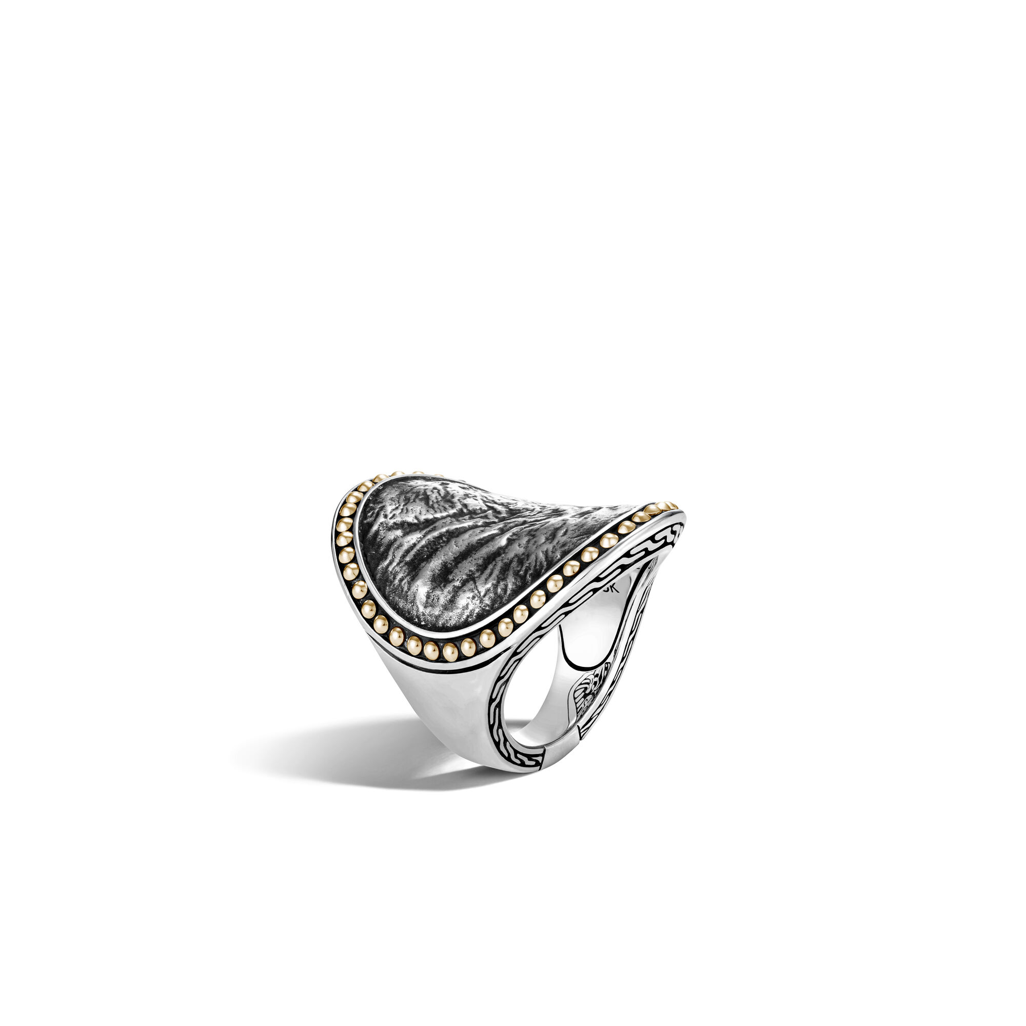Reticulated Saddle Ring , , large