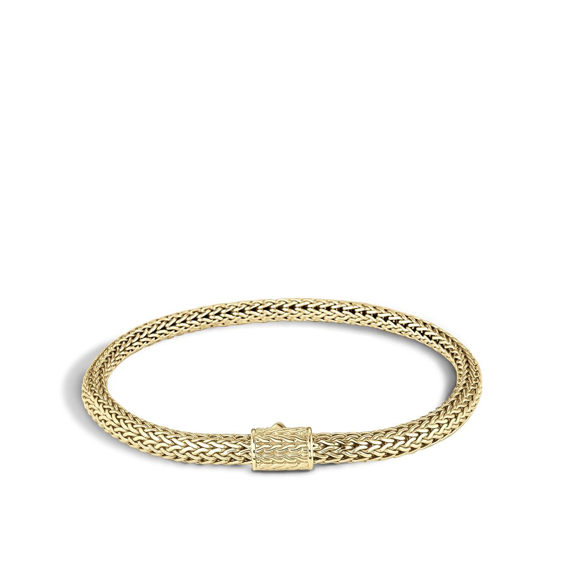 Classic Chain 5MM Bracelet in 18K Gold